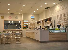 Arredamenti spazi commerciali progettazione e for Arredamenti bar brescia